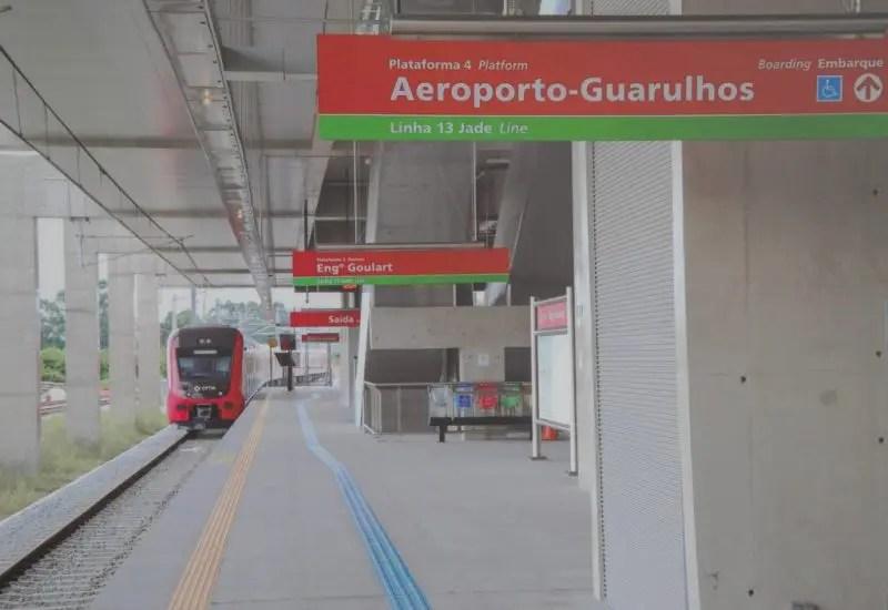 Trem para Guarulhos terá Operação Assistida no primeiro mês