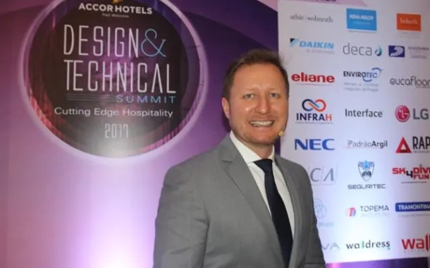 Paulo Mancio, VP de Design e Construção da AccorHotels: