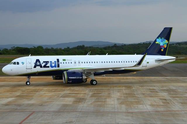 Azul apresenta 17ª aeronave modelo Airbus A320neo