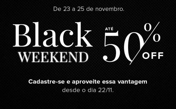 Intercity Hotels promove campanha Black Weekend