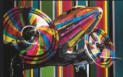 GRAACC e United Airlines entregam obra de arte ao vencedor do leilão beneficente
