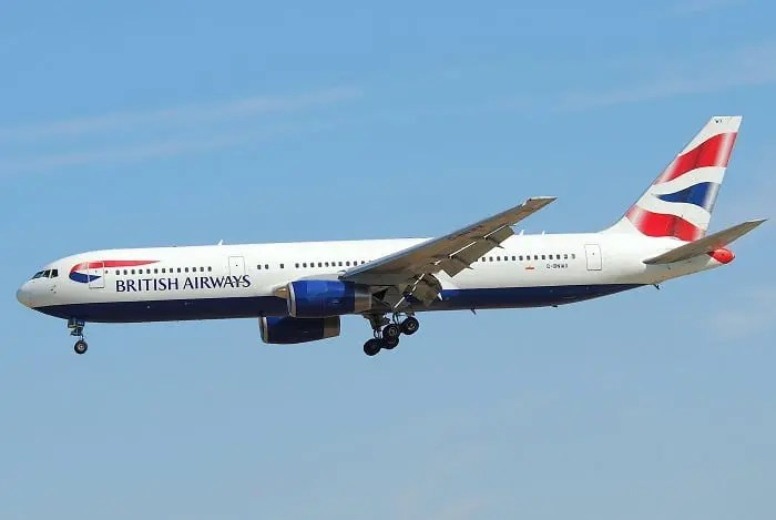 British Airways aposenta o Boeing 767