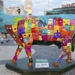 Beach Park e Ceará Show recebem vaquinhas da CowParade Fortaleza