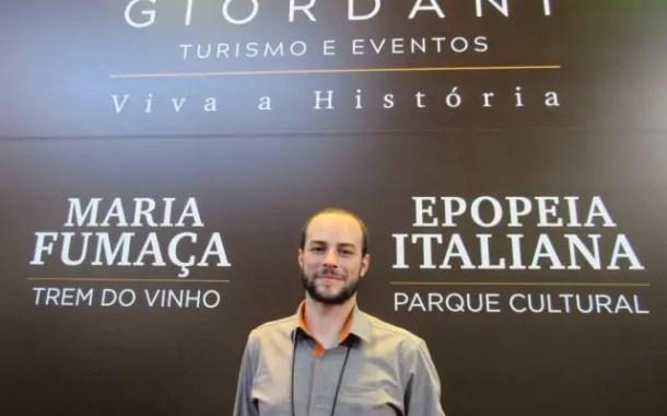 Maria Fumaça é o carro-chefe da Giordani Turismo e Eventos no 30º Festuris