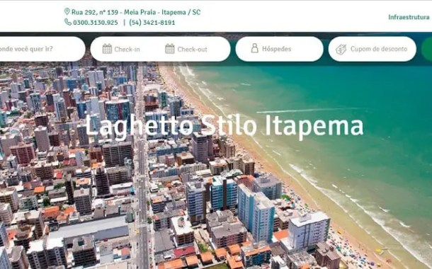 Rede Laghetto abre seu primeiro hotel em  Santa Catarina