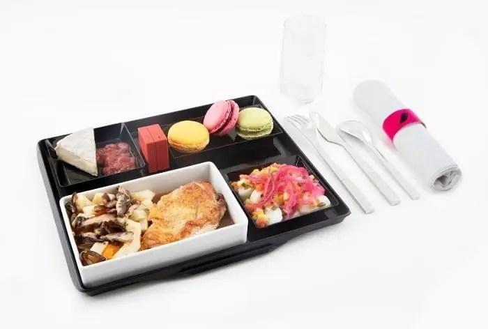 Air France lança seu novo menu à la carte com assinatura da Fauchon
