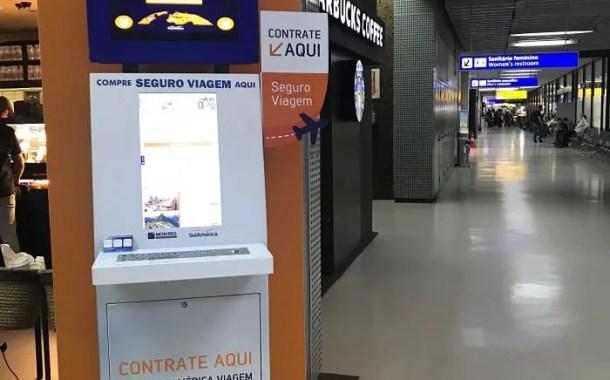 SulAmerica implanta totens em Cumbica para venda de seguro viagem
