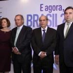 Presidente da CNC, José Roberto Tadros, participa de evento com Paulo Guedes e Rodrigo Maia
