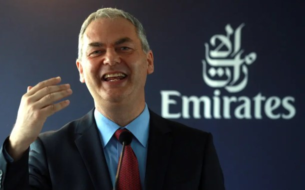 Diretor comercial da Emirates, Thierry Antinori, renuncia depois que lucros despencam