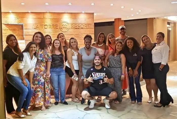 Latam realiza famtour no La Torre Resort de Porto Seguro-BA