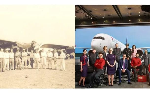 90 anos após o primeiro voo a Delta está pronta para ir além