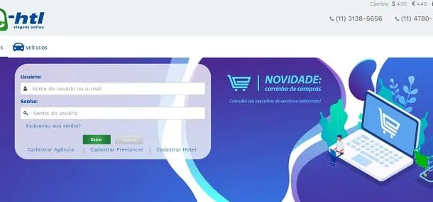 E-HTL lança ferramenta em  seu portal para facilitar trabalho dos agentes de viagens