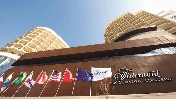 Fairmont Copacabana abre nesta segunda-feira (5), na Cidade Maravilhosa