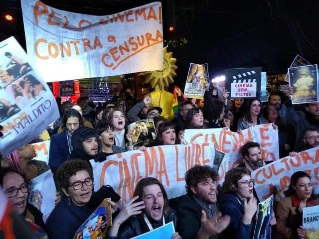 Festival de Gramado tem protestos e organização repudia a violência e defende convívio democrático