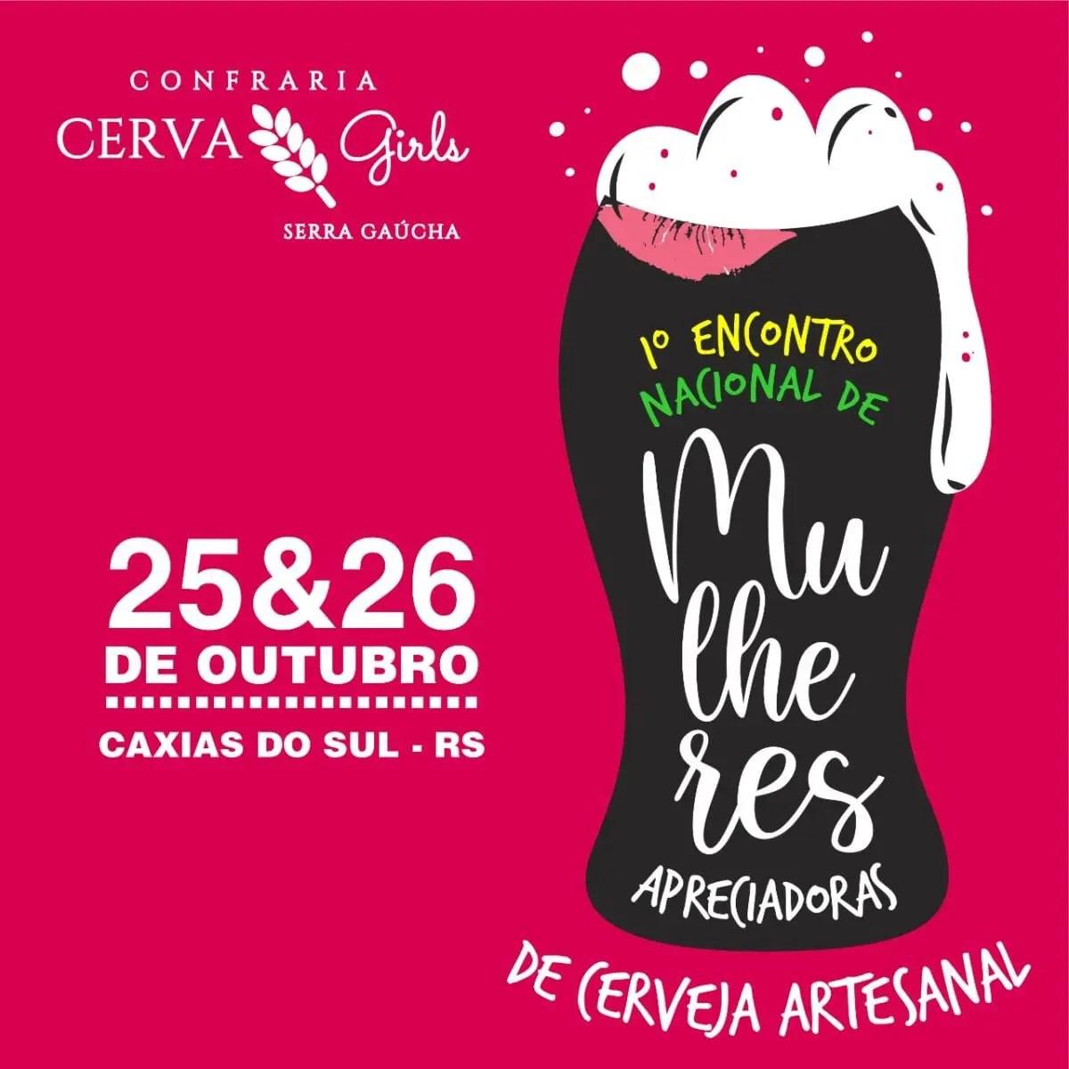 Caxias do Sul recebe 1º Encontro Nacional de Mulheres Apreciadoras de Cerveja Artesanal