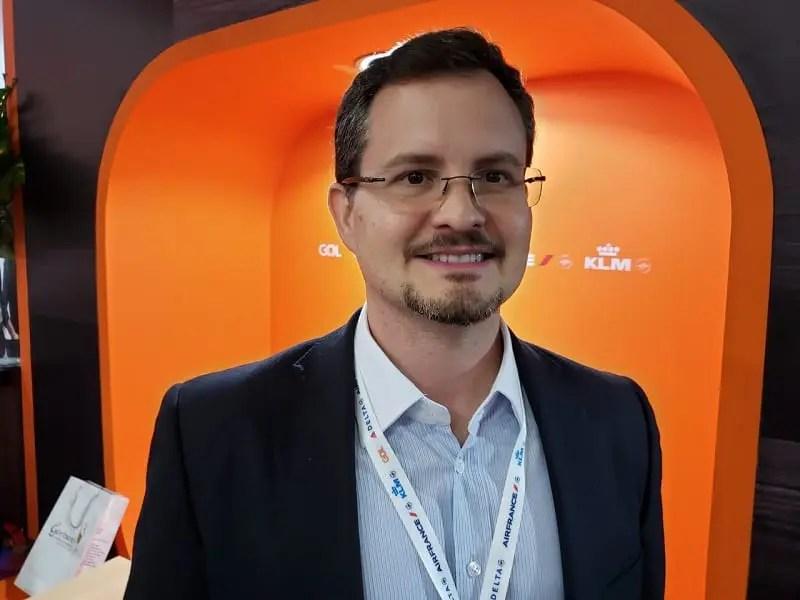 Renzo Rodriguez, diretor de vendas da GOL: