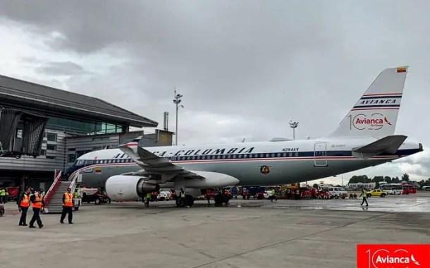 Avianca apresenta avião comemorativo dos 100 anos da empresa
