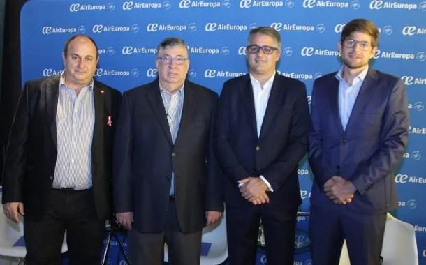 Air Europa realiza evento para celebração da rota Fortaleza-Madri