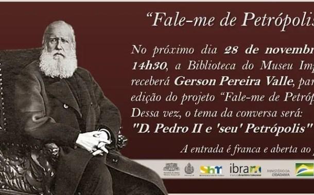 34ª Edição do Projeto Fale-me de Petrópolis é sediado na biblioteca do Museu Imperial