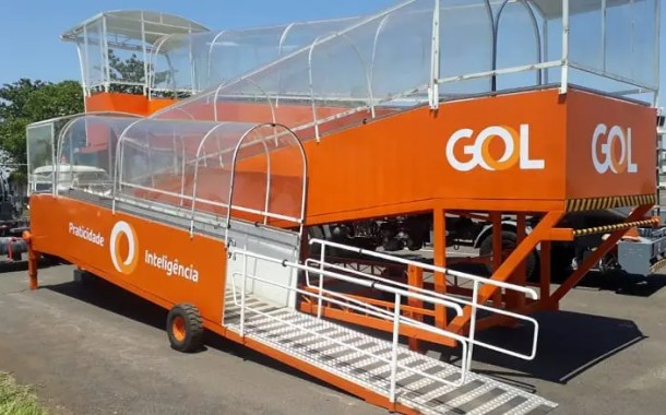 GOL inaugura rampa de acessibilidade para embarque e desembarque