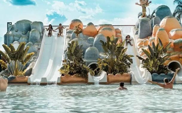 Hot Beach Olímpia é alternativa para férias em parque aquático