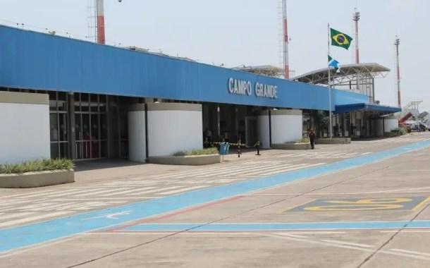 Aeroporto de Campo Grande deve receber quase 100 mil passageiros durante alta temporada