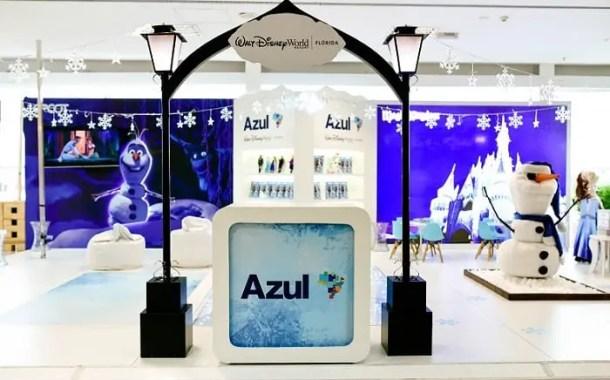 Azul realiza exposição fotográfica e espaço infantil no aeroporto de Viracopos