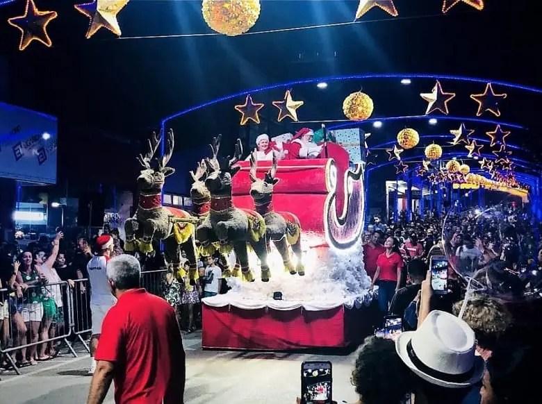 Abertura do Natal Mágico de Barra Velha reuniu mais de 12 mil visitantes