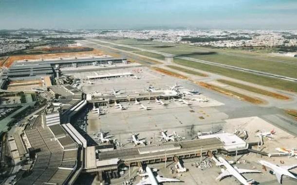 Terminal 2 do Aeroporto Internacional de Guarulhos está em nova etapa de modernização