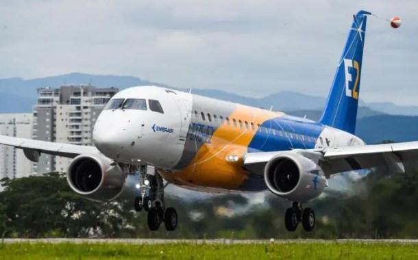Embraer e SkyWest, Inc. assinam contrato para 20 jatos E175