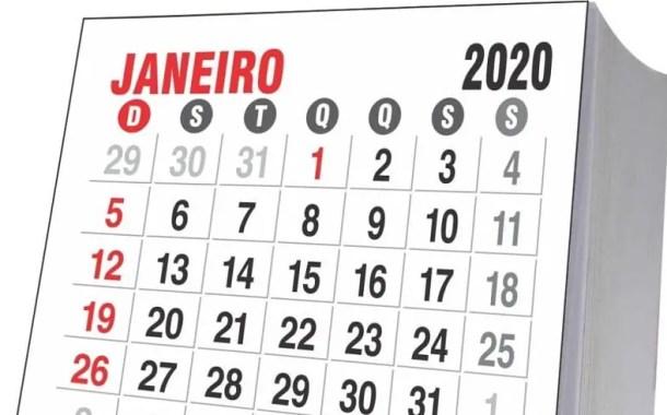 2020 terá 11 feriados nacionais em dias da semana