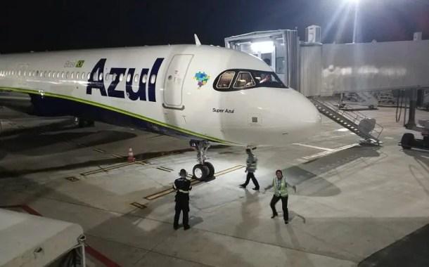 Azul começa operar o primeiro A321neo do Brasil na rota Viracopos - Salvador