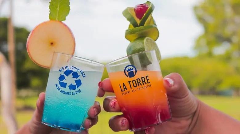 La Torre Resort de Porto Seguro reduz o consumo de plástico