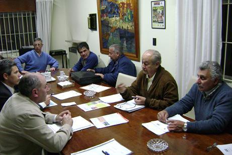 Un aspecto de la reunión.