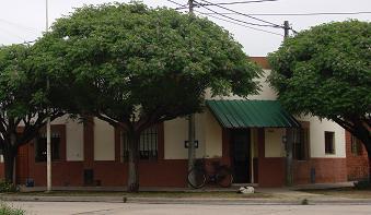 Una de las viviendas que fueron víctimas del robo.