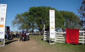 Importante cantidad de motos se concentraron en 9 de Julio.