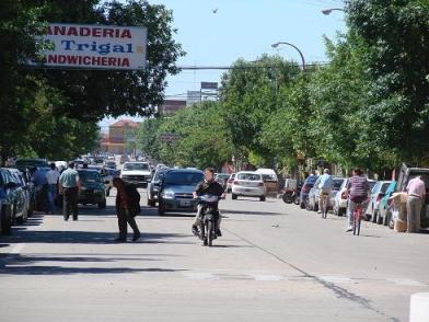En la avenida Vedia no están de acuerdo con la construcción de ramblas.