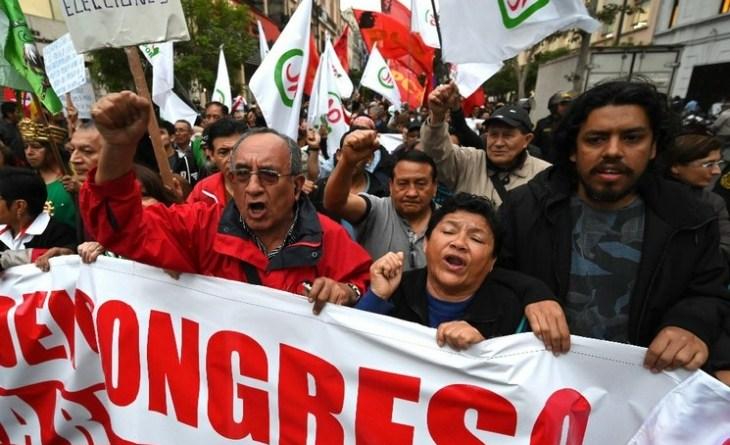 ¿Qué está pasando en Perú?