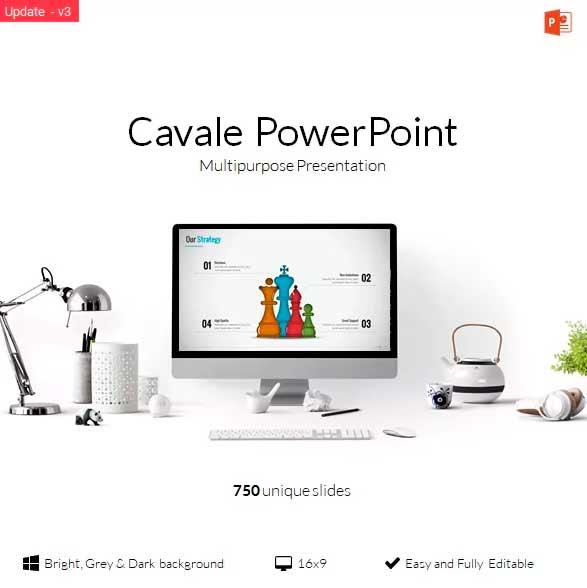Cavale Power Point plantilla
