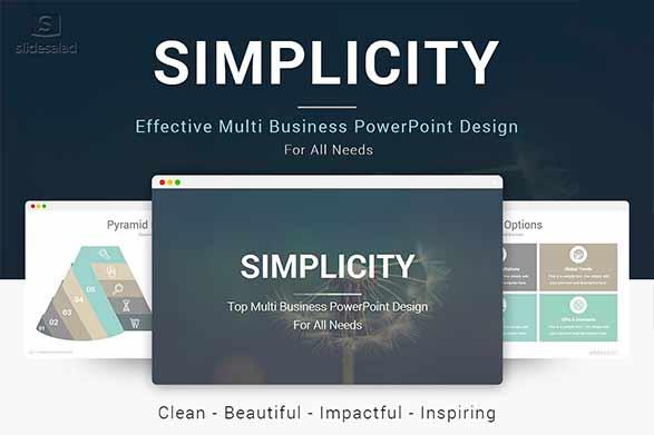 plantilla de power point simplicity