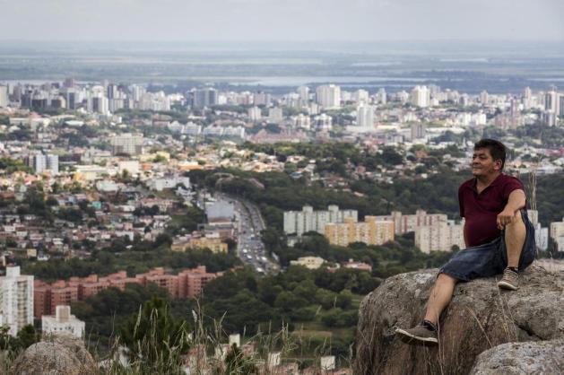 A aniversariante Porto Alegre tem seus extremos Mateus Bruxel/Agencia RBS
