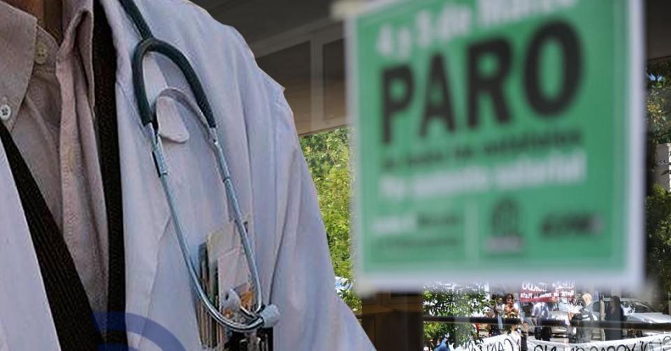 Paro profesionales del hospital municipal