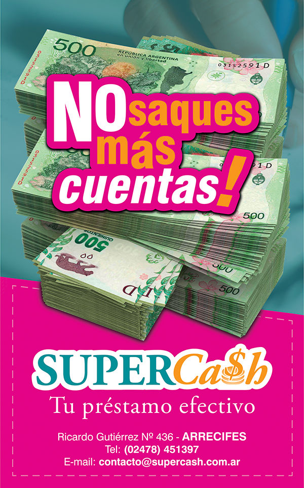 SuperCash Arrecifes