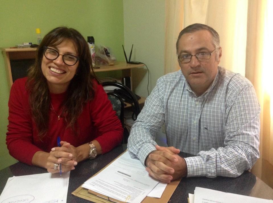 Defensores del Pueblo de Arrecifes - Miriam Gadea y Leandro Bonacifa