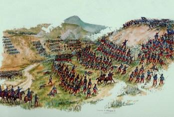 Batalla de Los Loros, 1859.