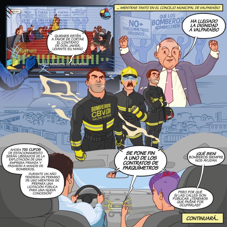 Comic bomberos