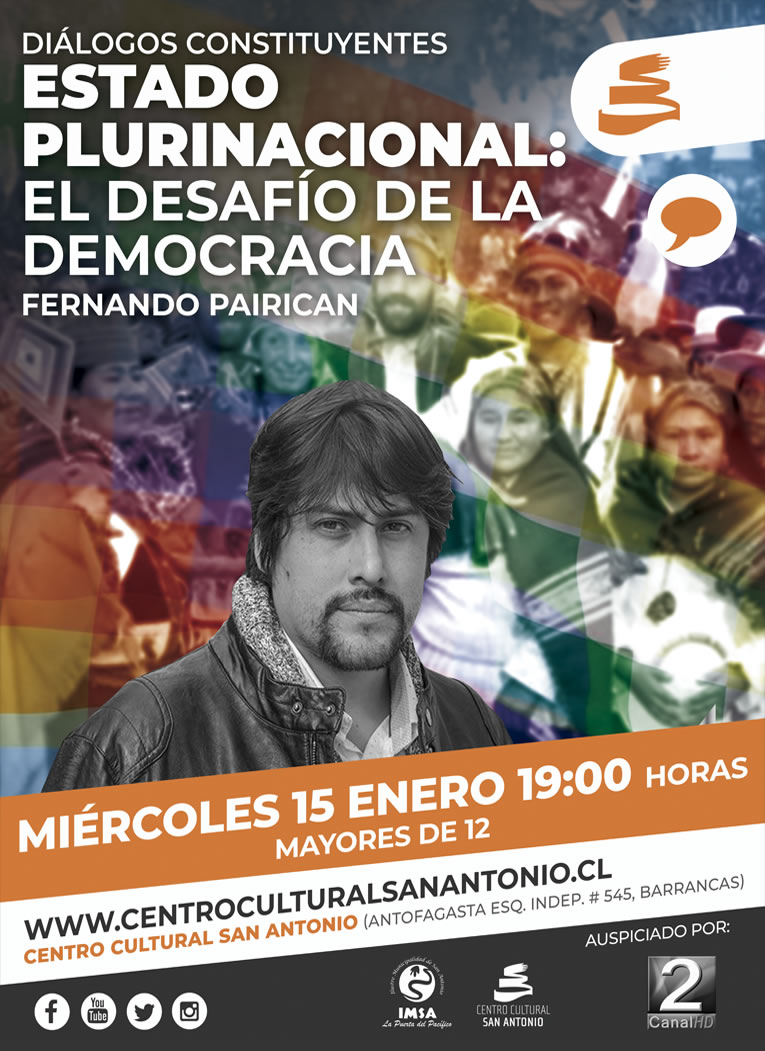 Fernando Pairican afiche web