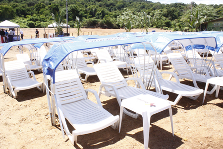 ¨Con el proyecto también se favorecerán 500 tolderos y kiosqueros¨, informó D´Elia