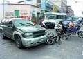 Luis Pérez (30) impactó contra una camioneta y fue trasladado de forma inmediata hasta la emergencia del HVS.