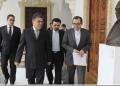 """Jaua, sostuvo un encuentro con el vicecanciller de la nación árabe, Mayid Tajt Ravanchi, en la Casa Amarilla """"Antonio José de Sucre"""